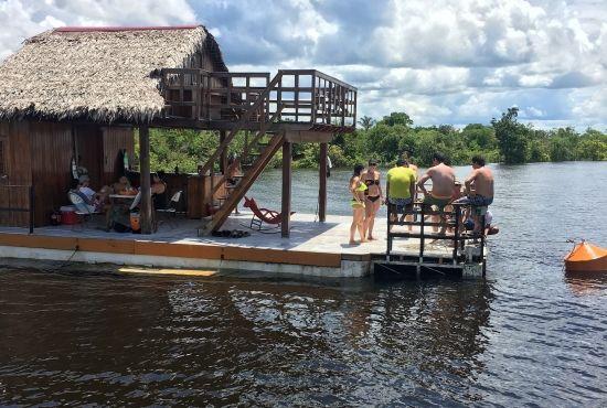 Floating Balsa-Bar Full Day