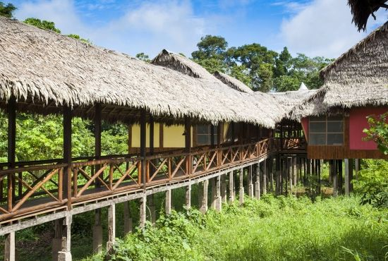 Overnight stay in Heliconia Lodge
